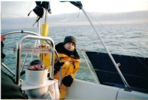 Des at the Helm